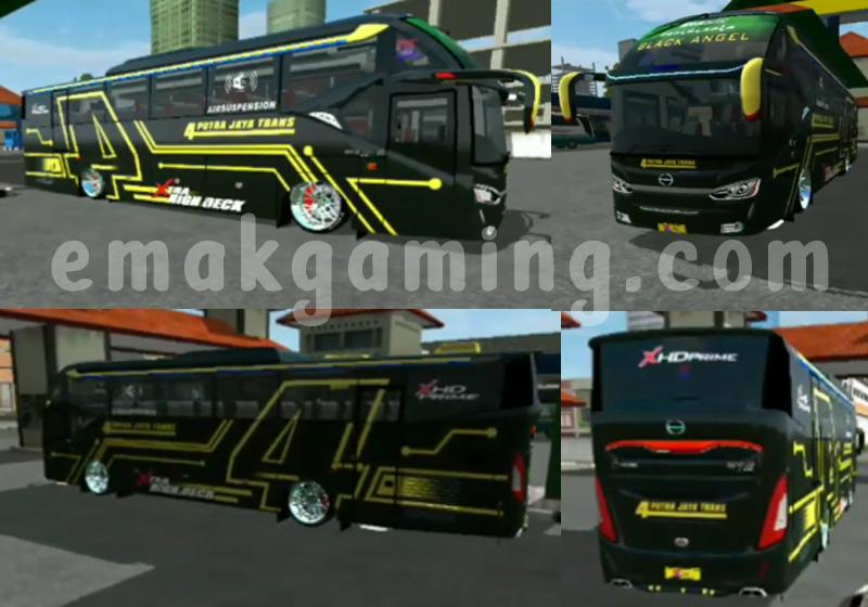 mod ceper bussid SR2 ECE R66 velg racing