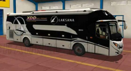 livery bussid xhd laksana xdd