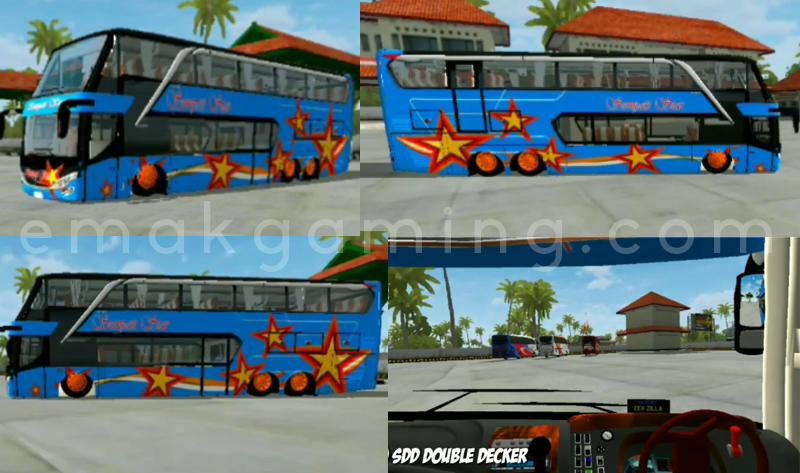 mod bussid double decker ceper