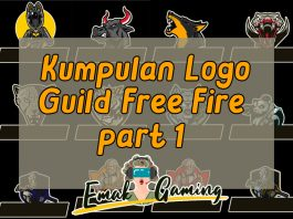 Logo guild free fire by emak gaming