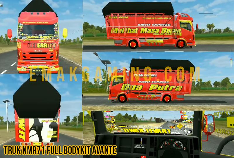 mod trukNmr71 Full Bodykit Avante