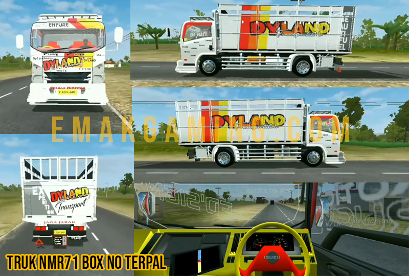 mod bussid Nmr71 box no terpal