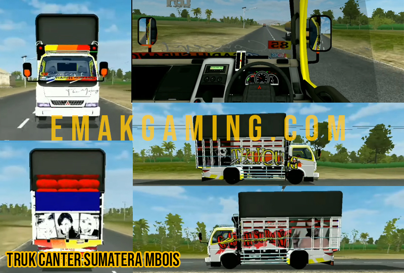 mod truck canter TRUK CANTER SUMATERA MBOIS