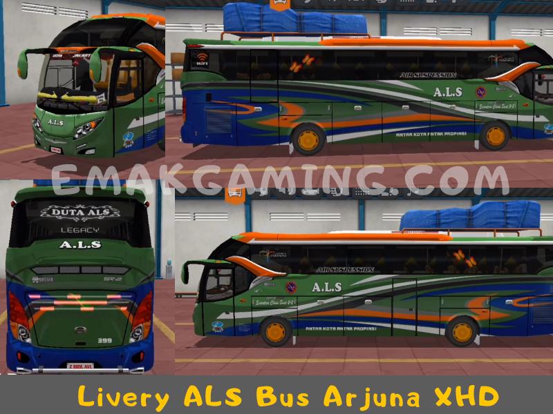 Livery Bussid ALS Arjuna XHD