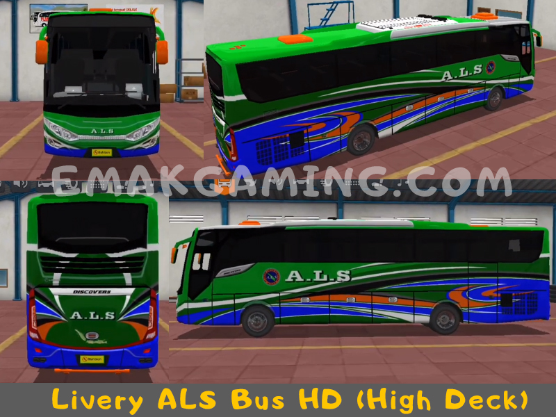 Livery Bussid ALS HD