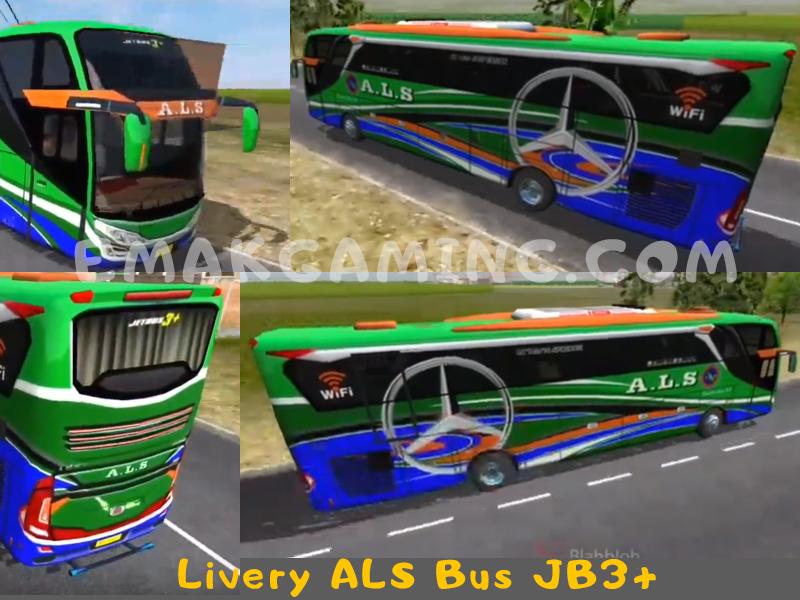 Livery Bussid ALS JB3