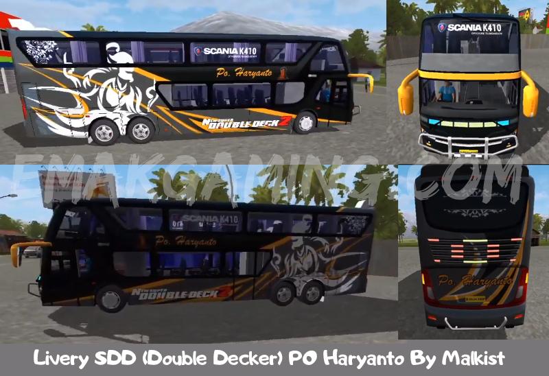 Livery SDD PO Haryanto - EmakGaming