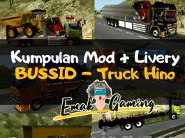 Kumpulan Mod BUSSID Truck Hino