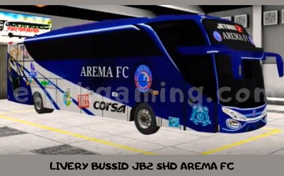 LIVERY BUSSID JB2 SHD AREMA FC