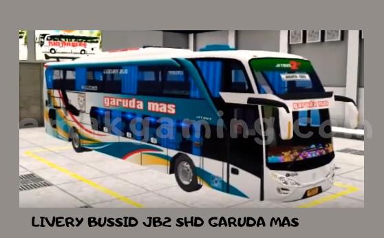 LIVERY BUSSID JB2 SHD GARUDA MAS