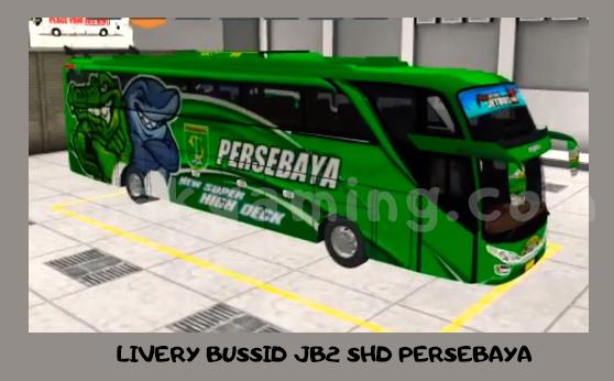 LIVERY BUSSID persebaya