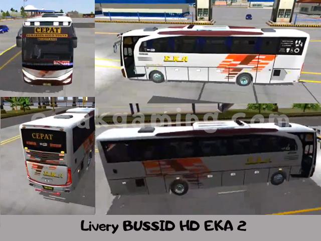 Livery BUSSID HD EKA