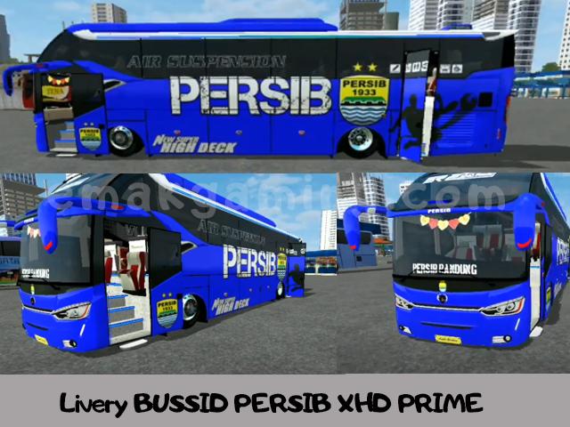 Livery BUSSID PERSIB XHD PRIME
