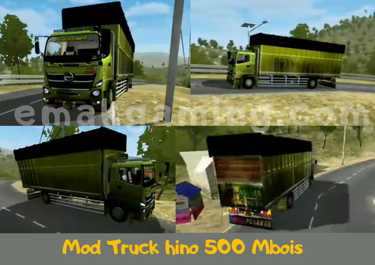 Mod Truck hino 500 Mbois