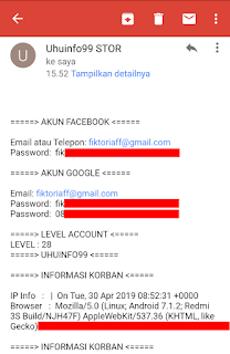 cara hack akun pubg orang lain