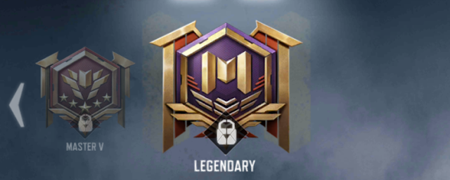 Urutan rank call of duty mobile legendary