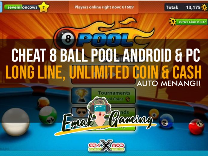 cheat 8 ball pool android dan PC