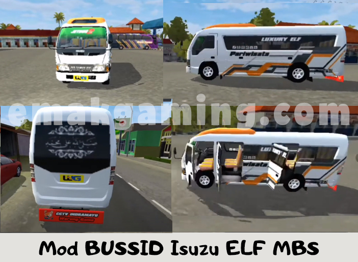 Mod Isuzu ELF MBS