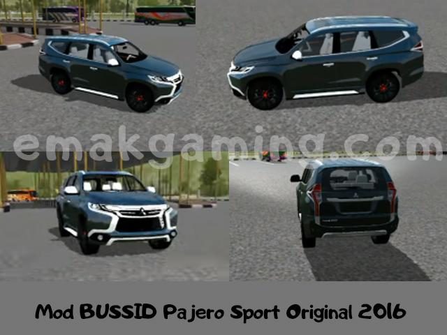 Mod BUSSID Pajero Sport Original 2016