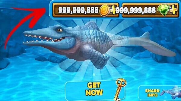 cheat hungry shark evolution