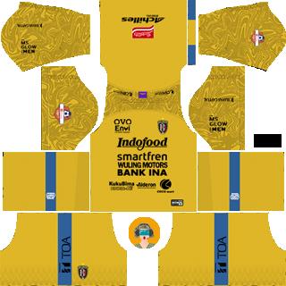 Kit DLS Away Bali United