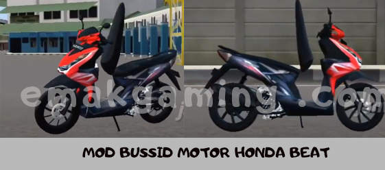 MOD BUSSID MOTOR HONDA BEAT