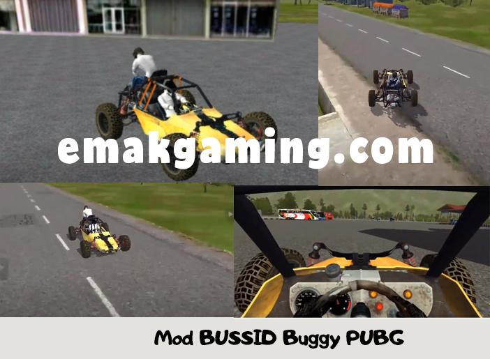 Mod BUSSID Buggy PUBG