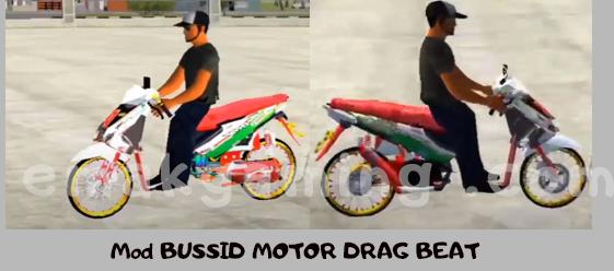 Mod BUSSID MOTOR DRAG BEAT