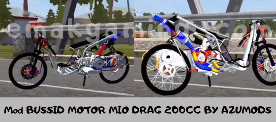 Mod BUSSID MOTOR MIO DRAG 200CC