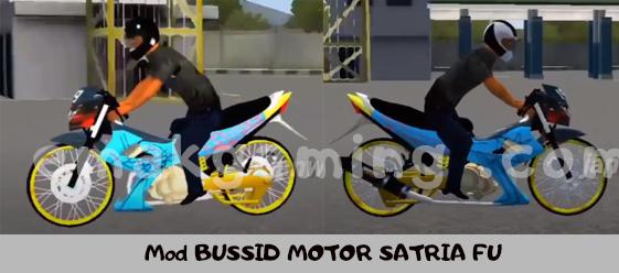Mod BUSSID MOTOR SATRIA FU