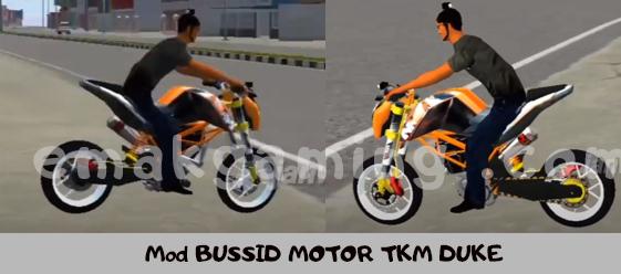 Mod BUSSID MOTOR TKM DUKE