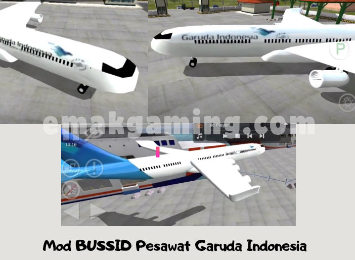 Mod BUSSID Pesawat
