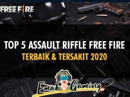 assault riffle free fire terbaik