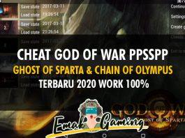 cheat god of war PPSSPP