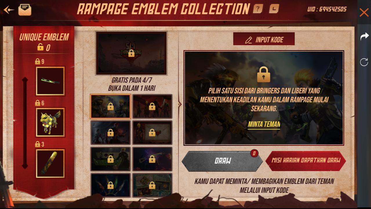 event kode emblem free fire