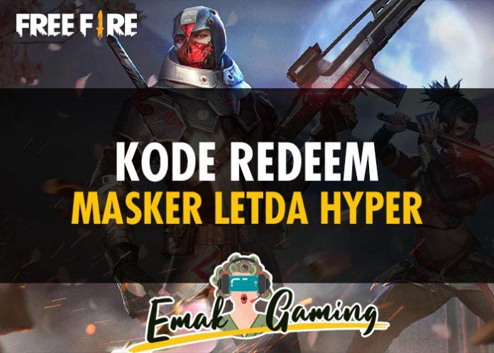 Kode Redeem Masker Letda Hyper